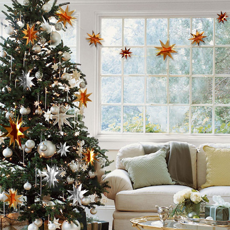 Christmas-tree-with-3D-stars