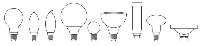 bulb-shapes