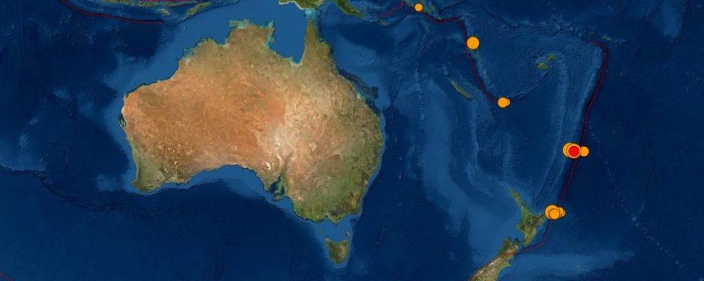 Νέα Ζηλανδία: Προειδοποίηση για τσουνάμι μετά από νέο σεισμό 8,1 Ρίχτερ