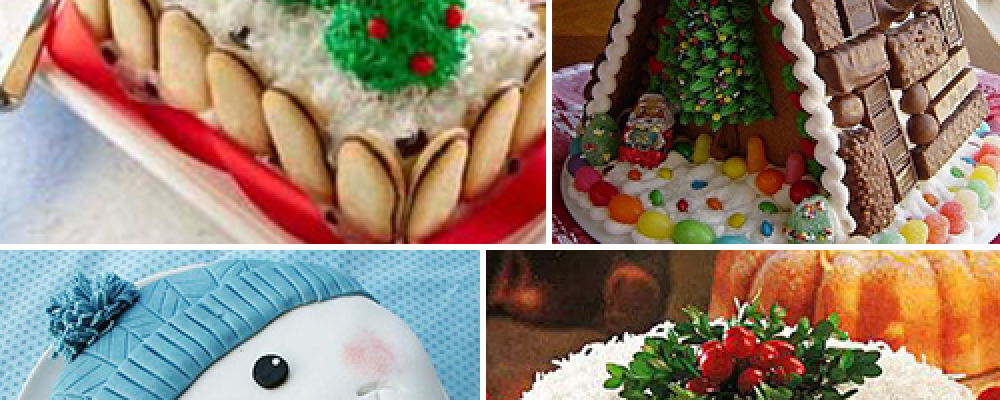 40 Ιδέες για χριστουγεννιάτικα γλυκά και τούρτες