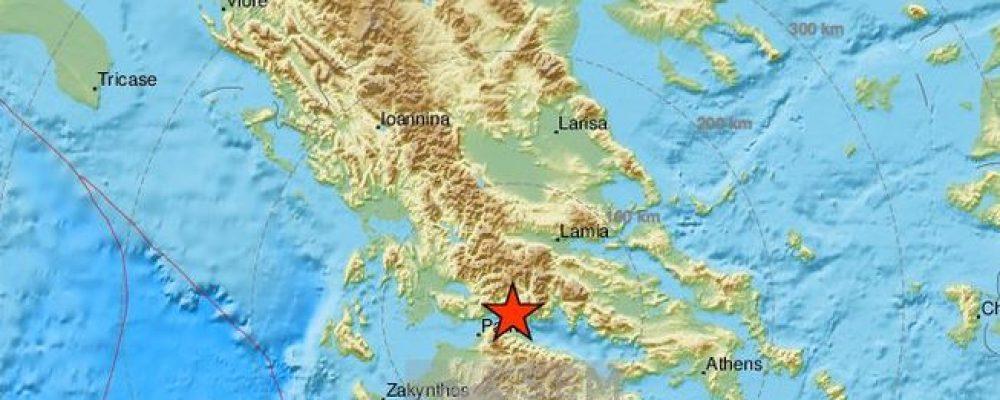 Ευρωμεσογειακό- 5,1 ο σεισμός στο Αίγιο…ταρακουνήθηκαν τα παράλια της Κορινθίας
