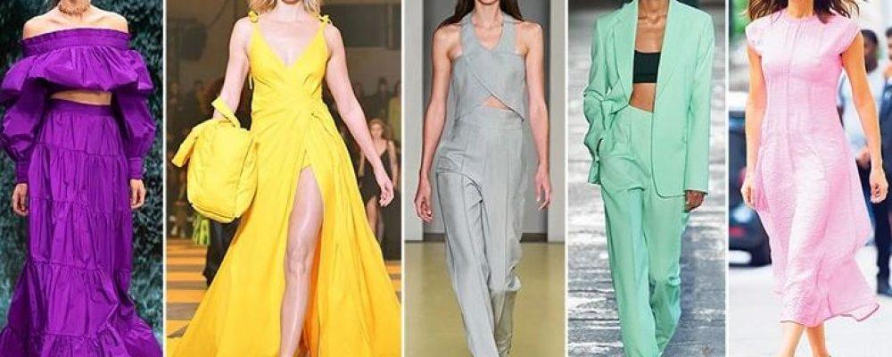 Τα top χρώματα που θα φορεθούν τη σεζόν Άνοιξη / Καλοκαίρι 2021