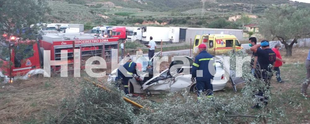 Νεκρός ανασύρθηκε οδηγός στο Σολομό Κορινθίας-  Βίντεο -φωτο