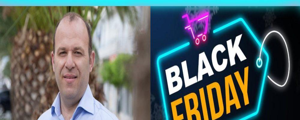 """Βασίλης Γεώργαρης"""" Άσπρη μέρα για τους καταστηματάρχες η Black Friday στην Κόρινθο""""βίντεο"""
