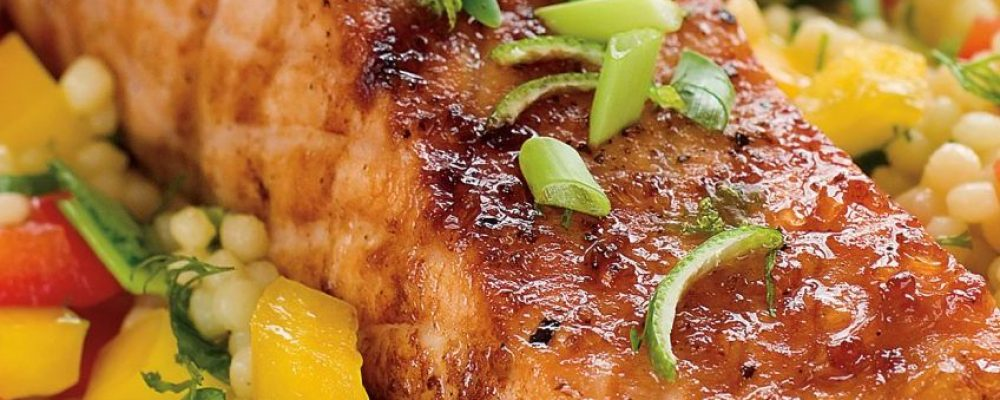 Μαριναρισμένος σολομός και πλιγούρι- Η συνταγή  θα σας ανταμείψει με τον πιο γευστικό τρόπο