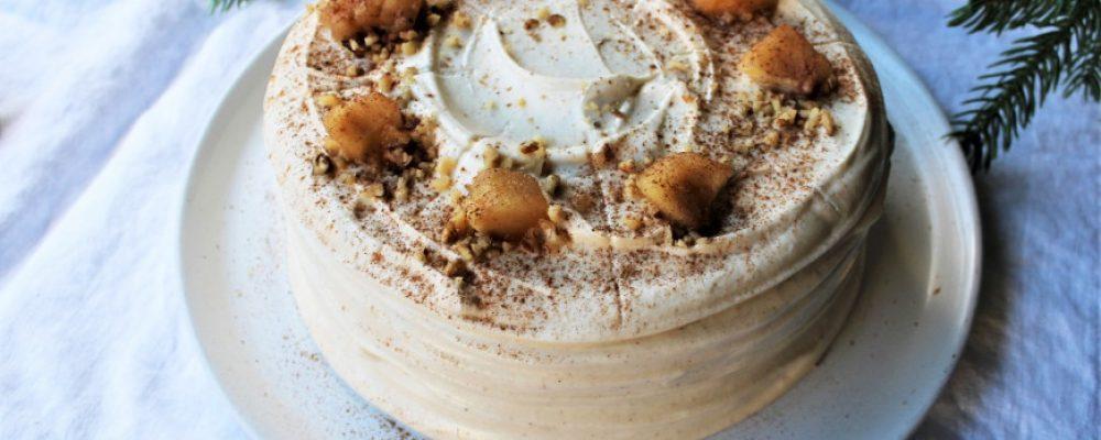 Το ωραιότερο κέικ με γέμιση κρέμας και μήλου