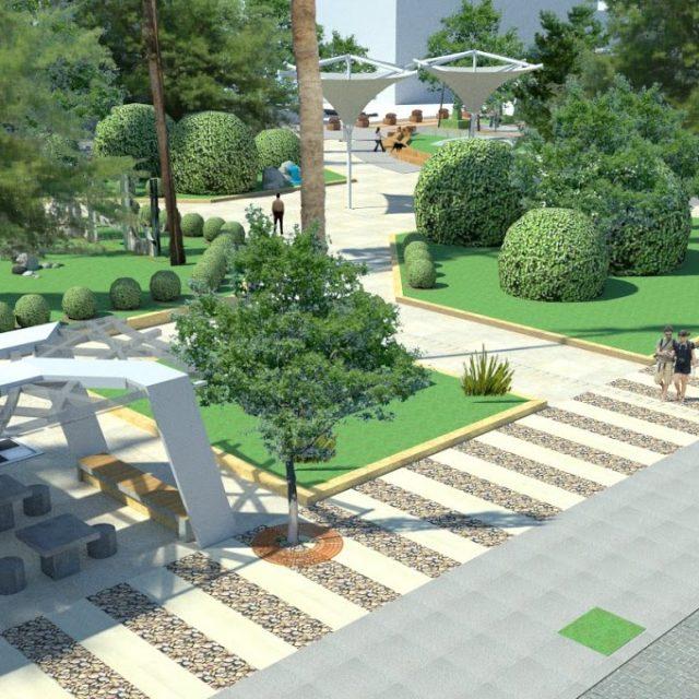 Καλά τα νέα ! Η πλατεία «Περιβολάκια» το Πάσχα θα είναι έτοιμη και με περισσότερα δέντρα- Δείτε φωτογραφίες