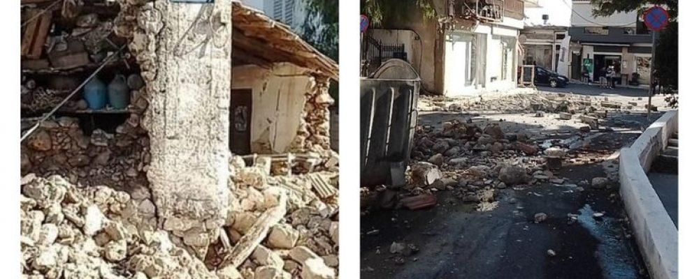 Σεισμός τώρα 5,8 Ρίχτερ στο Ηράκλειο Κρήτης- Πανικόβλητος πετάχτηκε ο κόσμος έξω από τα σπίτια