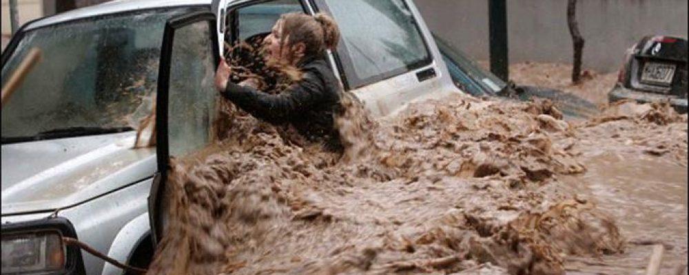 Οι πρώτες κινήσεις  σε περίπτωση πλημμύρας