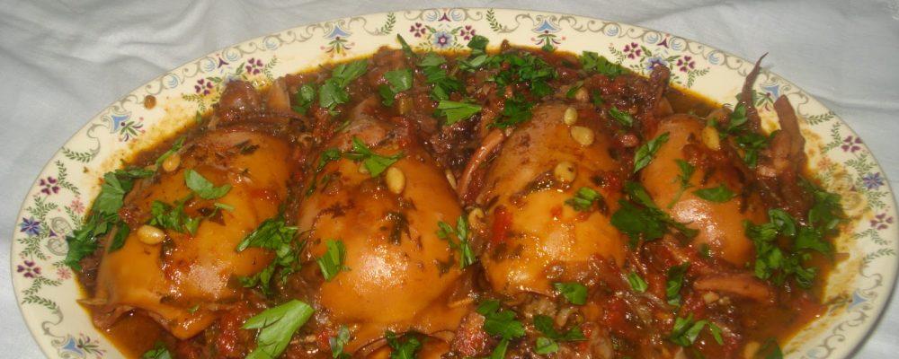 Μικρασιάτικη συνταγή : Γεμιστά καλαμαράκια