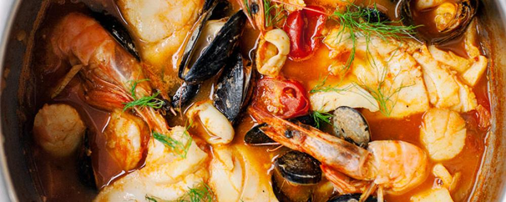 Μπουγιαµπέσα  η διασηµότερη γαλλική ψαρόσουπα στην καλύτερή της έκδοση