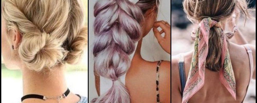 22 Καθημερινά καλοκαιρινά hairstyles!