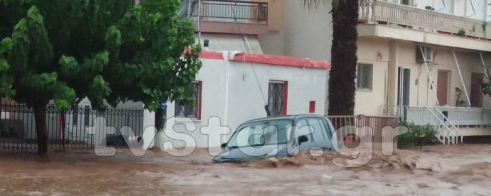 Δύο νεκροί στην Εύβοια από τις πλημμύρες – Δεκάδες απεγκλωβισμοί με Super Puma και λέμβους