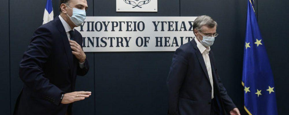 Έκτακτη σύσκεψη στο υπουργείο Υγείας για τις μεταλλάξεις του κορονοϊού