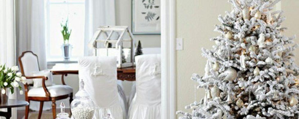 Στολίστε το χριστουγεννιάτικο δένδρο σας στα λευκά