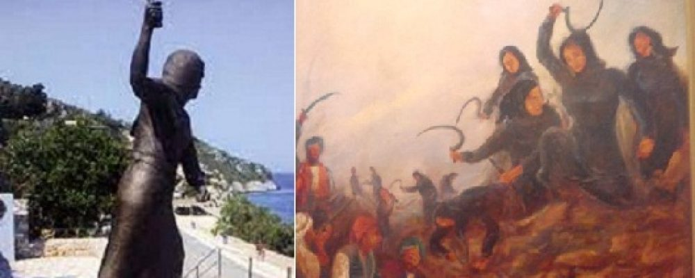 Η Μάχη της Βέργας — Οι δρεπανηφόρες Μανιάτισσες του Διρού