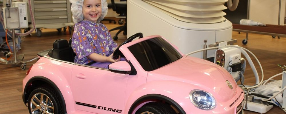 Νοσοκομείο επιτρέπει στα παιδιά να «οδηγήσουν» μέχρι το χειρουργείο …