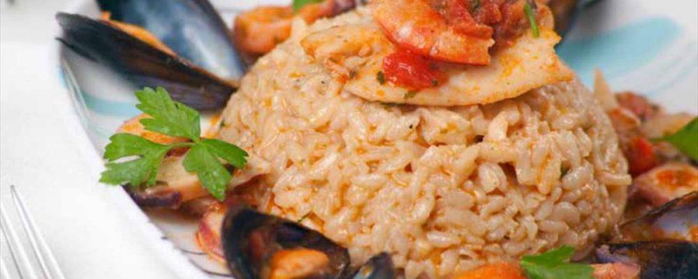 Ριζότο αλά μαρινάρα … Αληθινά υπέροχο!