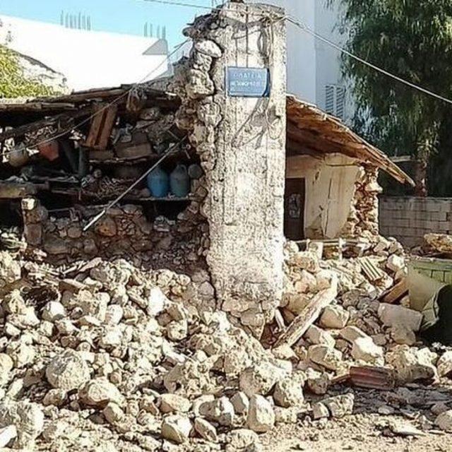 Ισχυρός σεισμός 5,9R στην Κρήτη: Ένας νεκρός και  9 τραυματίες