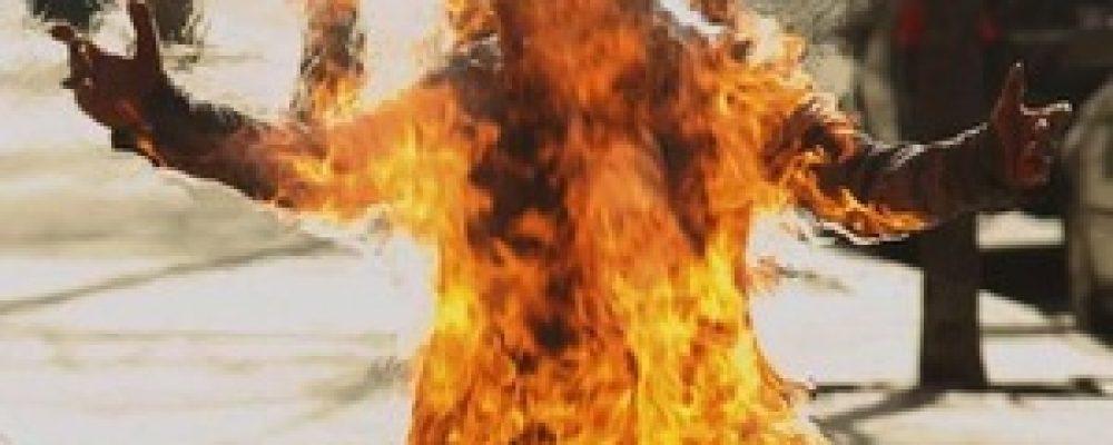 Αυτοπυρπολήθηκε νεαρή γυναίκα στην Κόρινθο με βενζίνη