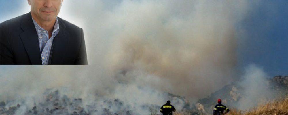 Σημερινή δήλωση του Δήμαρχου Γ.Γκιώνη για τις φωτιές στο Λουτράκι
