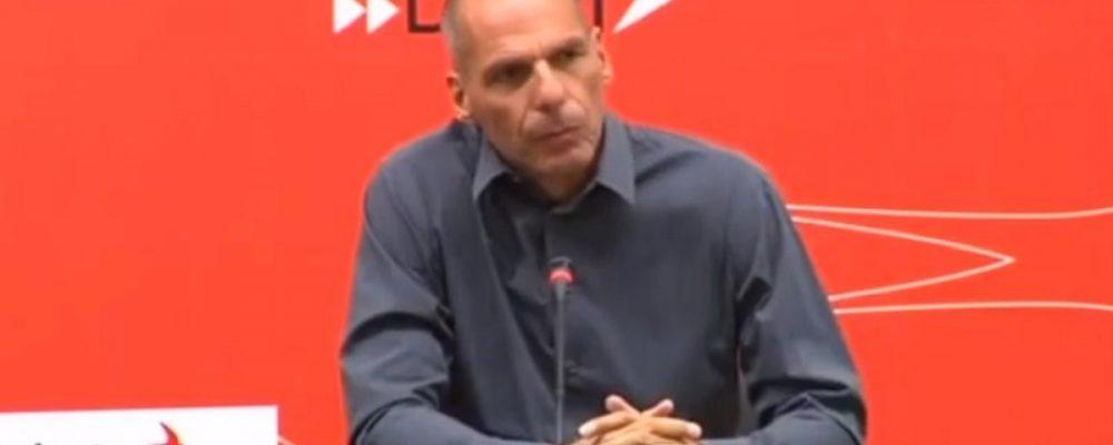 Γιάνης Βαρουφάκης: Γίνεται πλιάτσικο της ιδιωτικής περιουσίας με πρόφαση την Πανδημία